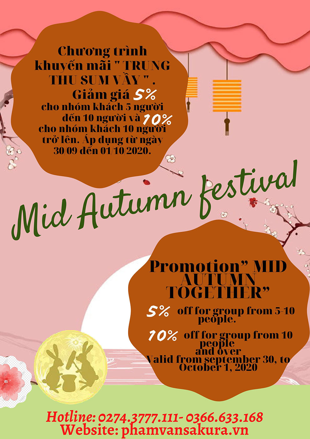 """Promotion """"MID AUTUMN TOGETHER"""""""