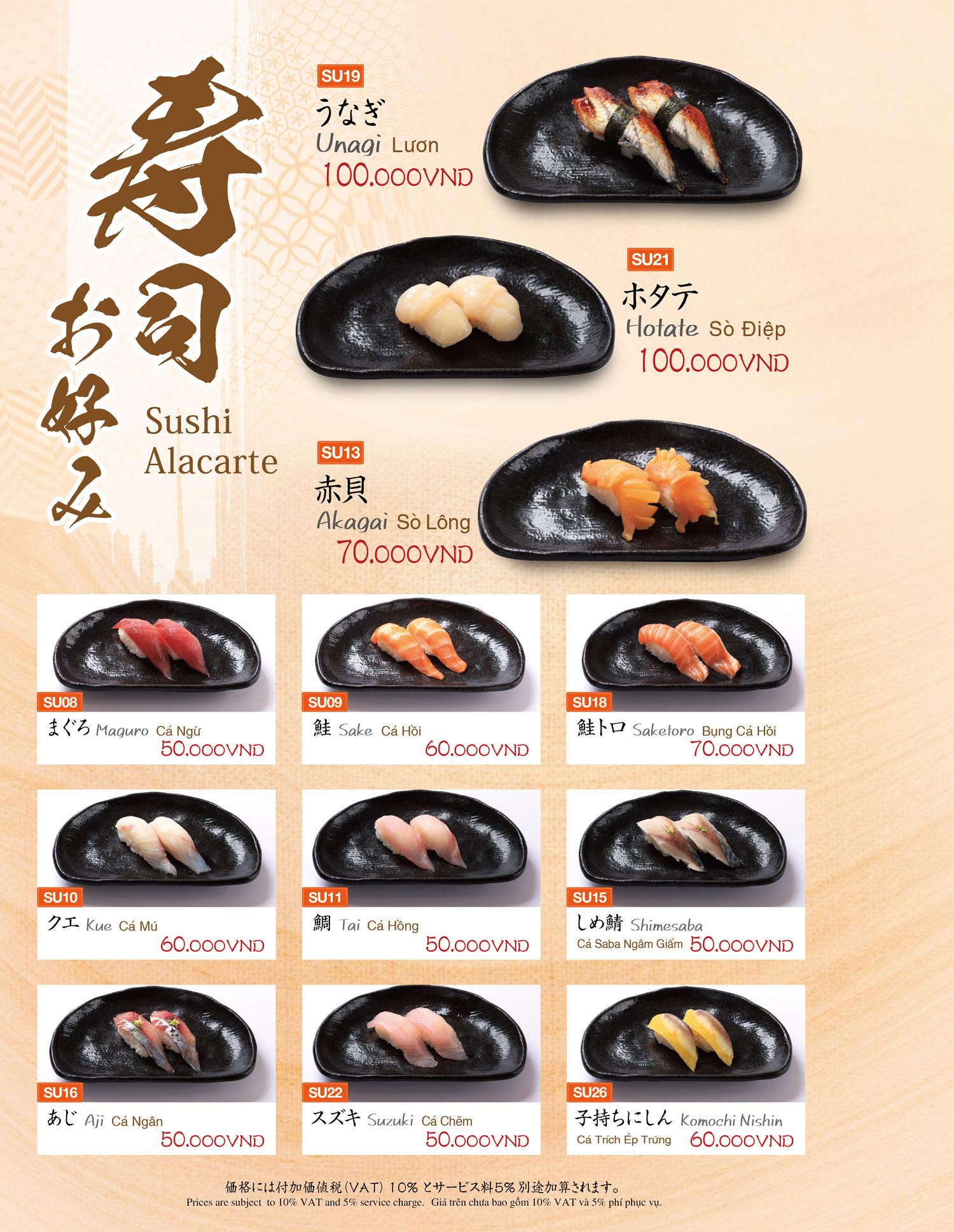 Sushi Alacarrte